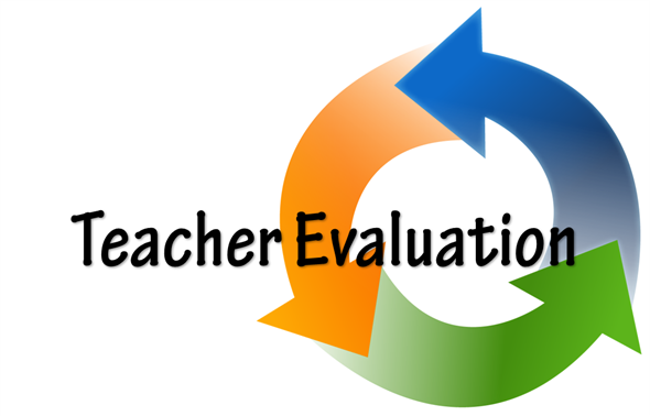 Teacher Evaluation Graphic of Cyclical Arrows