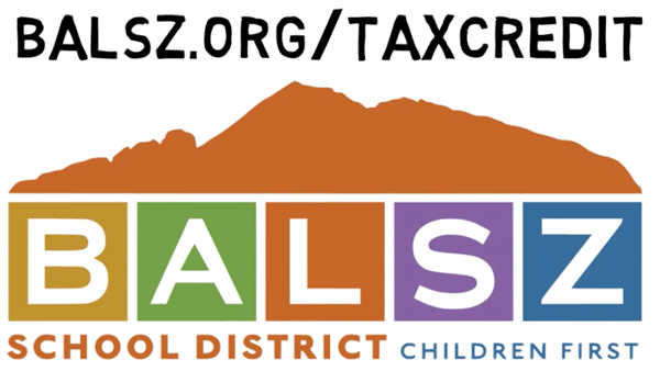 balsz.org/taxcredit and logo