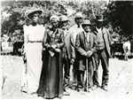 vintage photo of Black Americans in Texas celebrating Juneteenth