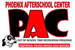 Phoenix Afterschool Center Logo - Out of school recreation program. Inspiring young minds and bodies