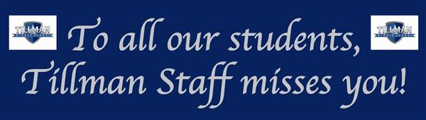 staff message to students
