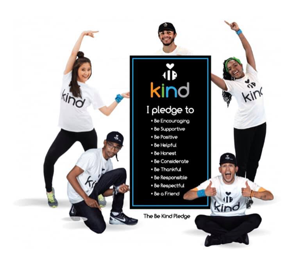 Be Kind Crew and pledge
