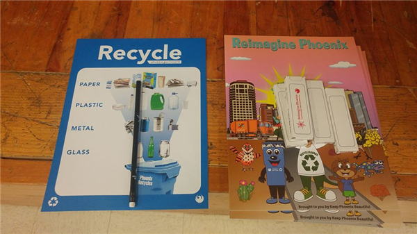 Recycling guide and book